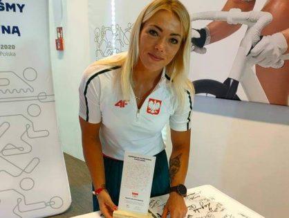 Marta Walczykiewicz złożyła Ślubowanie Olimpijskie